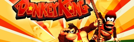 Banner Donkey Kong Country Color