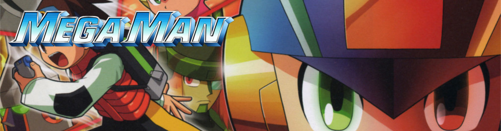 Banner Mega Man Battle Network 4 Red Sun