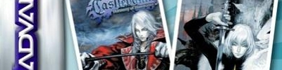 Banner 2 Games in 1 Castlevania Harmony of Dissonance Plus Castlevania Aria of Sorrow