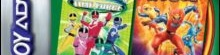Banner 2 Games in 1 Power Rangers Time Force Plus Power Rangers Ninja Storm