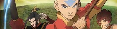 Banner Avatar The Last Airbender - The Burning Earth