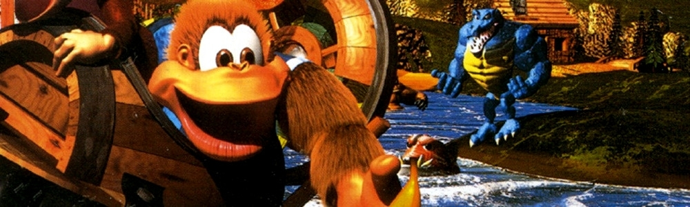 Banner Donkey Kong Country 3