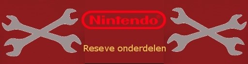 Banner Game Boy Advance - Reserve Onderdelen