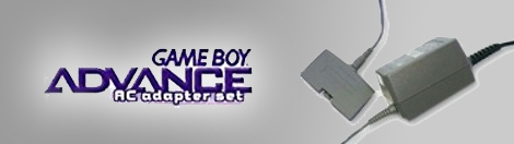 Banner Game Boy Advance AC-DC Adapter Set