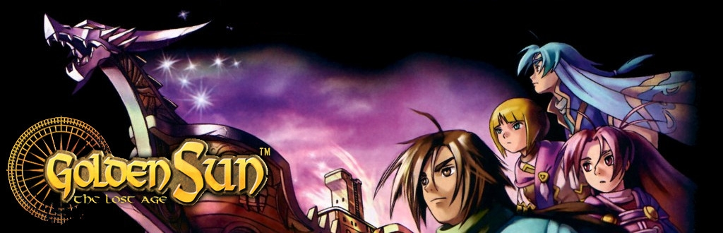 Banner Golden Sun The Lost Age