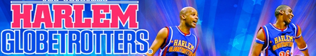 Banner Harlem Globetrotters World Tour