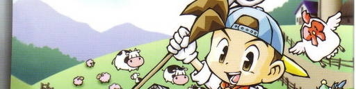 Banner Harvest Moon Friends of Mineral Town