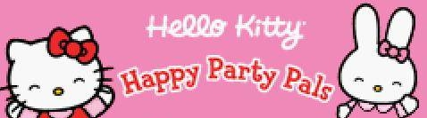 Banner Hello Kitty Happy Party Pals