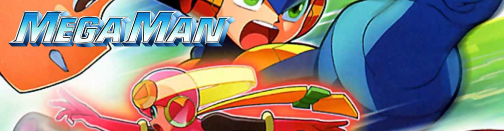 Banner Mega Man Battle Chip Challenge
