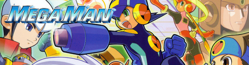 Banner Mega Man Battle Network