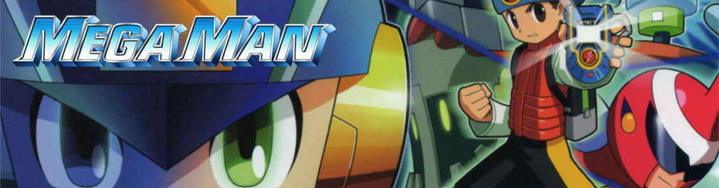 Banner Mega Man Battle Network 4 Blue Moon
