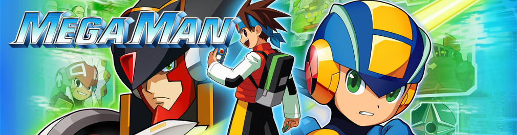 Banner Mega Man Battle Network 5 Team Colonel