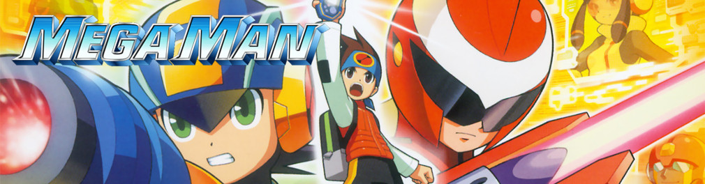 Banner Mega Man Battle Network 5 Team Protoman