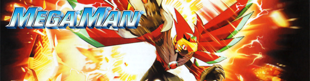 Banner Mega Man Battle Network 6 Cybeast Falzar