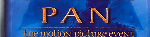 Banner Peter Pan The Motion Picture Event
