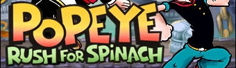 Banner Popeye Rush for Spinach