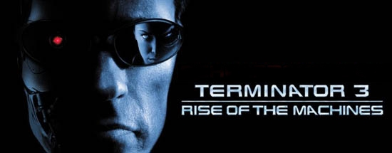 Banner Terminator 3 Rise of the Machines
