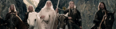 Banner The Lord of the Rings The Two Towers