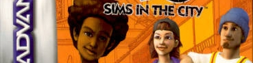 Banner The Urbz Sims in the City