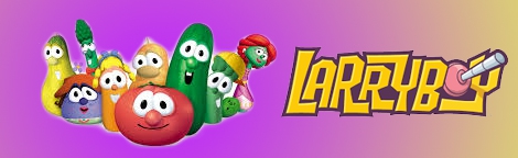 Banner VeggieTales LarryBoy and the Bad Apple