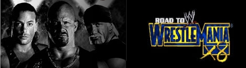 Banner WWE Road to WrestleMania X8
