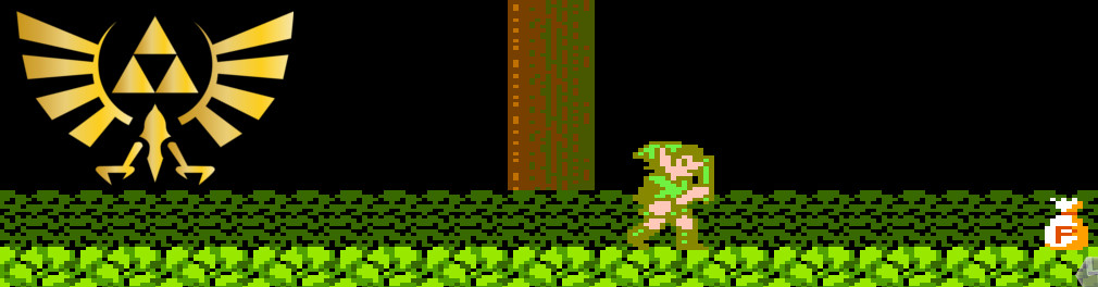 Banner Zelda II The Adventure of Link