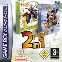 2 Games in 1 Bukkazoom + The Evil Mirror voor Nintendo GBA