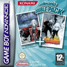 2 Games in 1 Castlevania Harmony of Dissonance Plus Castlevania Aria of Sorrow voor Nintendo GBA