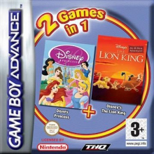 2 Games in 1 Disney Princess Plus Disney Lion King voor Nintendo GBA