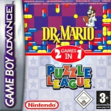 2 Games in 1 Dr Mario Plus Puzzle League voor Nintendo GBA