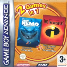 2 Games in 1 Finding Nemo + The Incredibles voor Nintendo GBA