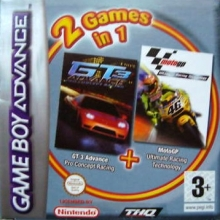 2 Games in 1 GT 3 Advance + Moto GP Compleet voor Nintendo GBA