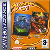 2 Games in 1 Hot Wheels Velocity X Plus Hot Wheels World Race voor Nintendo GBA