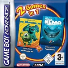 2 Games in 1 Monsters en Co + Finding Nemo voor Nintendo GBA