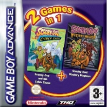 2 Games in 1 Scooby Doo and the Cyber Chase Plus Mystery Mayhem voor Nintendo GBA