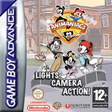 Animaniacs Lights Camera Action voor Nintendo GBA