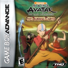 Avatar The Last Airbender - The Burning Earth voor Nintendo GBA