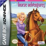 Barbie Horse Adventures: The Big Race Compleet voor Nintendo GBA