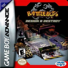 Battlebots Design and Destroy voor Nintendo GBA