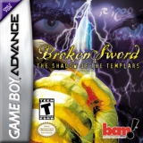 Broken Sword The Shadow of the Templars Compleet voor Nintendo GBA
