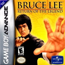 Bruce Lee Return of the Legend voor Nintendo GBA