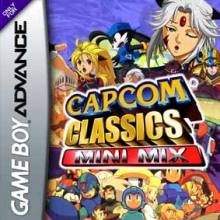 Capcom Classics Mini Mix voor Nintendo GBA