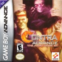Contra Advance The Alien Wars EX voor Nintendo GBA