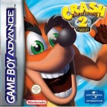 Crash Bandicoot 2 N-Tranced voor Nintendo GBA
