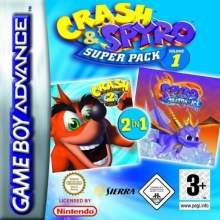 Crash and Spyro Super Pack Volume 1 voor Nintendo GBA