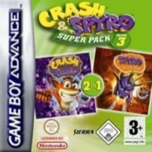 Crash and Spyro Super Pack Volume 3 voor Nintendo GBA