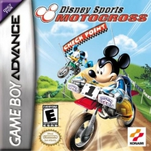 Disney Sports Motocross voor Nintendo GBA