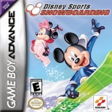 Disney Sports Snowboarding voor Nintendo GBA