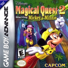 Disneys Magical Quest 2 Starring Mickey and Minnie voor Nintendo GBA