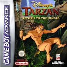 Disneys Tarzan Return to the Jungle voor Nintendo GBA